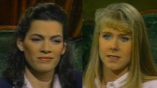 Tonya Harding and Nancy Kerrigan interview  - 1998 - Sound Enhanced -