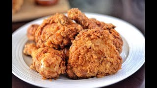 HOW TO MAKE THE BEST SOUTHERN FRIED CHICKEN! | CRISPY FRIED CHICKEN RECIPE