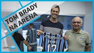 TOM BRADY ASSISTE GRE-NAL 416 NA ARENA l GrêmioTV