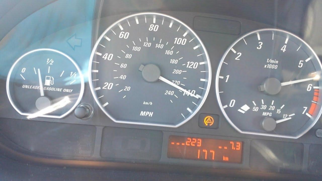 2002 BMW 325Ci >> BMW e46 330ci 0-Vmax Acceleration - YouTube