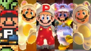 Evolution of Assist Power-Ups in Super Mario Games