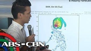 WATCH: PAGASA 5PM briefing on Typhoon Rosita   29 October 2018