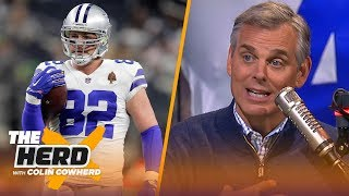Colin Cowherd reacts to Witten coming out of retirement, analyzes impact on Cowboys | NFL | THE HERD