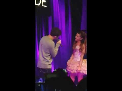 Almost Is Never Enough - Ariana Grande & Nathan Sykes (live @ Ariana's secret LDN gig 07/11/13)