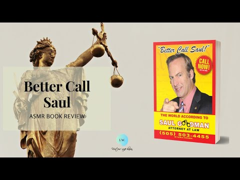 Better Call Saul Book ASMR