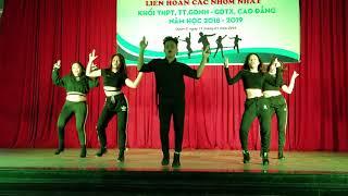 Phần thi nhảy hiện đại của THPT Ngô Gia Tự