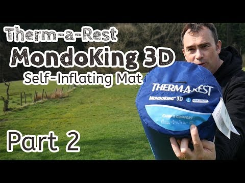 video Thermarest MondoKing 3D Self-Inflating Camping Mat