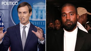 Kushner confirms he met with Kanye amid scrutiny of rapper's 2020 campaign
