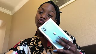 iPhone 11 Unboxing (Mint Green)🥳