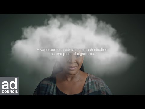 Get Your Head Out of the Cloud: What's Inside :15 | Youth Vaping Prevention | Ad Council