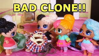 LOL SURPRISE DOLLS Clone Harper And She Doesn't Help LOL DOLLS At ALL!! Lol Surprise Doll Clone