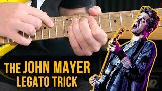 The John Mayer Legato Trick (How To & Licks)
