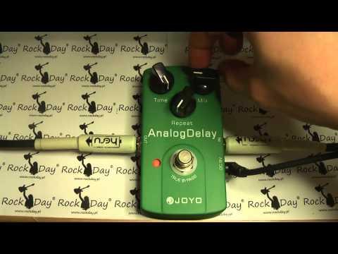 Joyo JF-33 JF 33 Analog Delay test review guitar effect efekt gitarowy - RockDay Pietraszek
