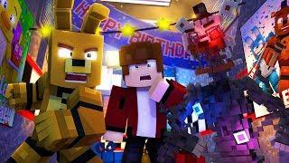 Minecraft FNAF 6 Pizzeria Simulator - NOOB VS PRO (Minecraft Roleplay)