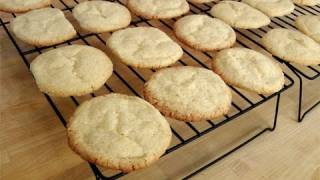 How to make Vanilla Sugar Cookies - Recipe by Laura Vitale - Laura in the Kitchen Ep 104