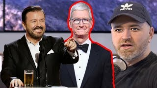 What Ricky Gervais Said About Tim Cook...