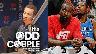 Kevin Durant & Kendrick Perkins Twitter Feud Gets Nasty - Chris Broussard & Rob Parker