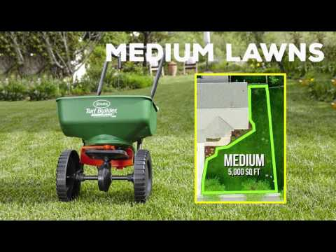 How to Choose Lawn Products and Spreaders