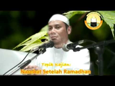 Nasehat Setelah Ramadhan 2/4