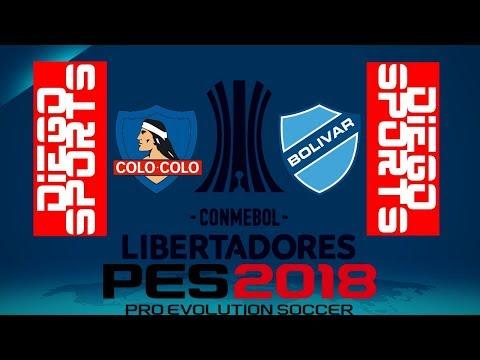 Colo Colo vs Bolivar La Paz
