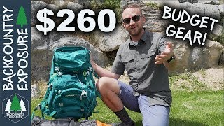 True Budget Backpacking Gear! Big 3 Gear Items For Cheap!