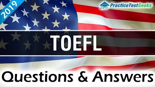 TOEFL Questions & Answers   Learn English (Updated 2019)