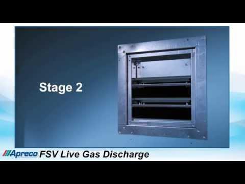 Apreco FSV Live Gas Discharge
