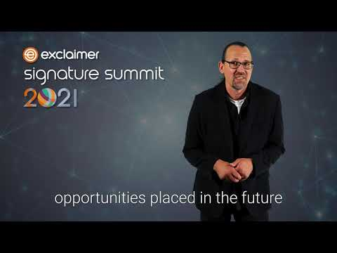 Exclaimer Group introduces first virtual event - The Exclaimer...