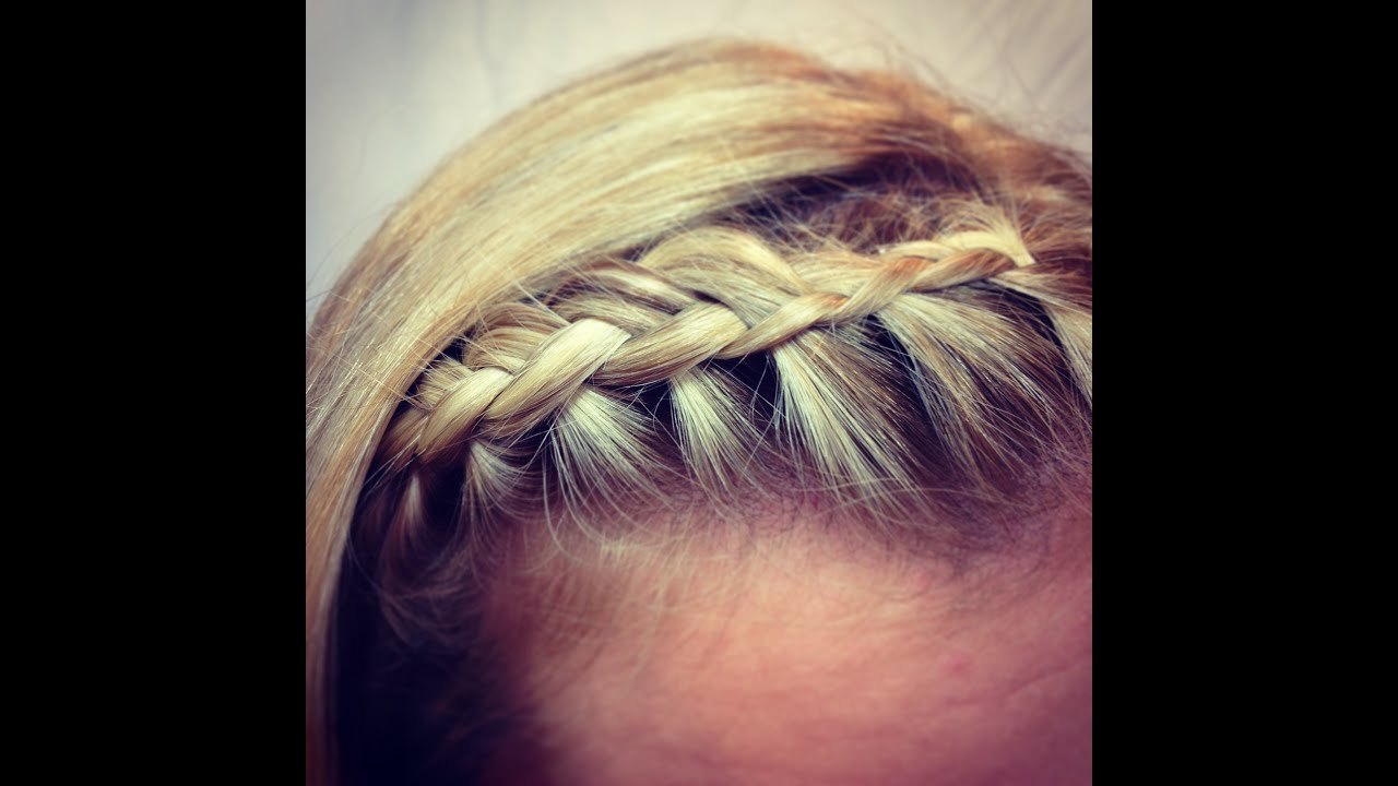 Hair Styles And Braids: Fringe (bangs) Braid