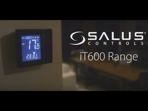 Salus iT600 trådløs varmestyring via din smartphone