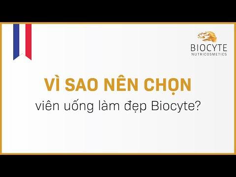 Vì sao nên chọn viên uống làm đẹp Biocyte?