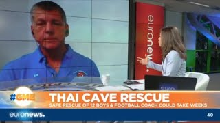 Thai Cave Rescue: safe rescue of 12 boys and football coach could take weeks