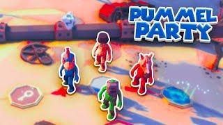 The BEST PARTY GAME! - Pummel Party