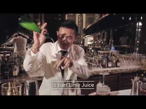 Best Bartender cocktail at The Ritz-Carlton Bar & Lounge by Slamet Haryadi