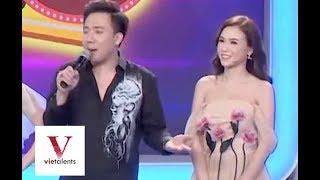 Hot Girl Sam Trổ Tài CatWalk Khiến Trấn Thành Ngã Ngữa | VieTalents Official