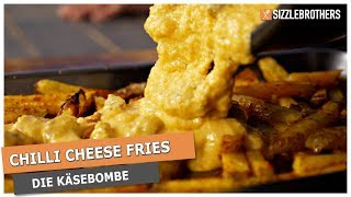 Chili Cheese Fries - Die scharfe KÄSEBOMBE !