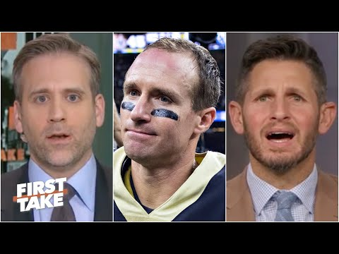 Max isn't considering Drew Brees a top-tier QB of all time | First Take