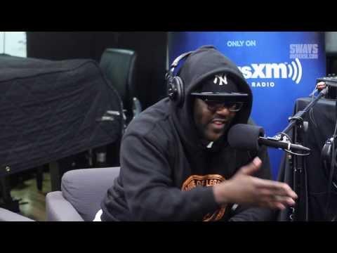 Mistah F.A.B. рапува во слободен стил во живо на утринска радио емисија