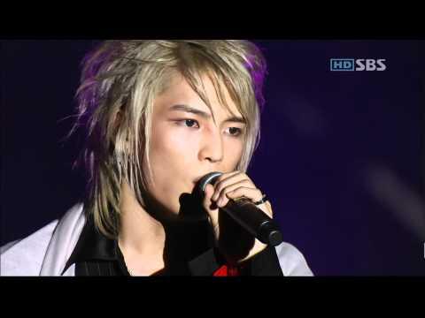 [HD]061020 TVXQ - Holding back the tears (그리고) live @ 3rd Album Showcase