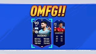 Im So Done! Top 5 Luckiest Two Player Packs!! #1 (Gold Upgrade Packs) Fifa 19 Ultimate Team