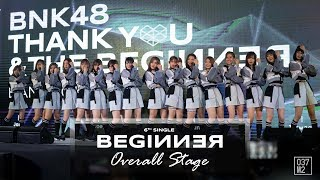 190302 BNK48 Senbatsu • Beginner Overall Stage @ BNK48 Thank you & The Beginner [4k 60p]