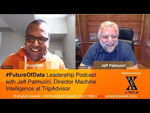 Jeff Palmucci @TripAdvisor discusses managing a #MachineLearning #AI Team
