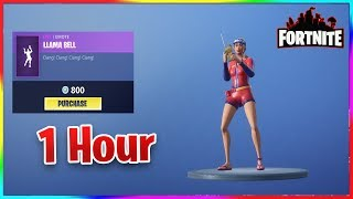 *NEW* Fortnite Llama Bell Emote 1 Hour Edition (vBucks Giveaway)