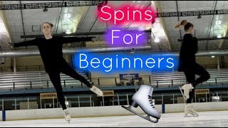 Tips & Tricks on Basic Figure Skating Spins | Lessons With Eye Katie