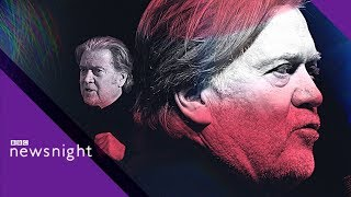 FULL INTERVIEW: Trump's former chief strategist Steve Bannon- BBC News