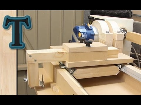 Router Lathe Duplicator: Build Pt.2