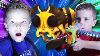 Nerf Battle:  Flying Bug Attack Rewind (Twin Toys)