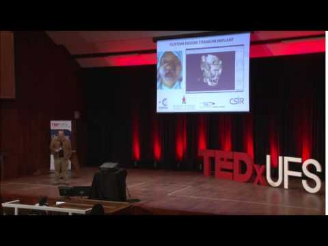 Changing lives using 3D Printing | Gerrie Booysen | TEDxUFS