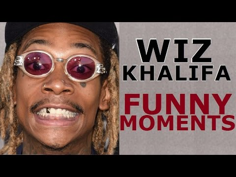 Wiz Khalifa FUNNY MOMENTS (BEST COMPILATION) 2017