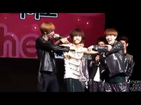 EXO-K CHANYEOL BEATBOX & SEHUN, KAI DANCE